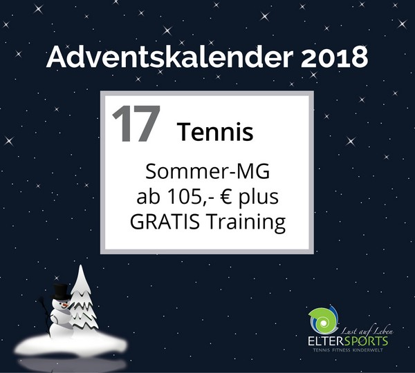 ElterSports Adventskalender 2018 - 17.12.2018, 15:47