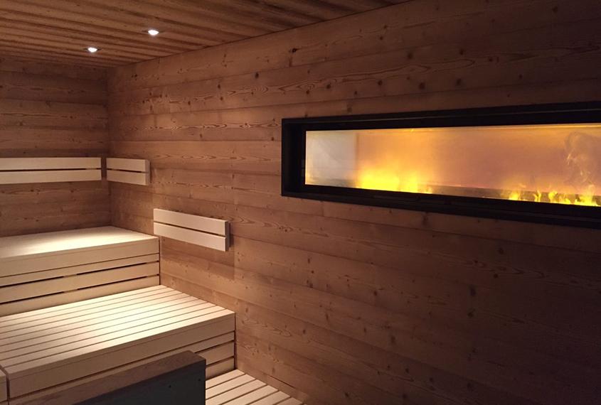 Sauna- & Wellnessbereich im neuen Look