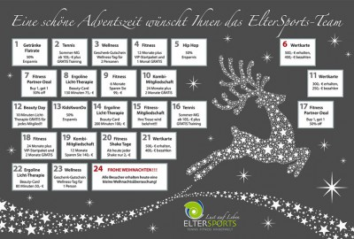 News Adventskalender 2016 ElterSports