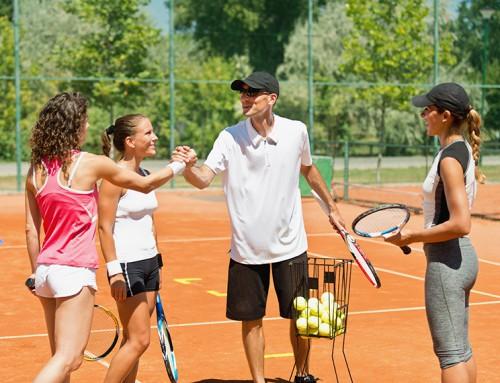 Tennis Gruppenstunden Erwachsene