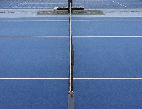 Tennis Neuer Hallenboden