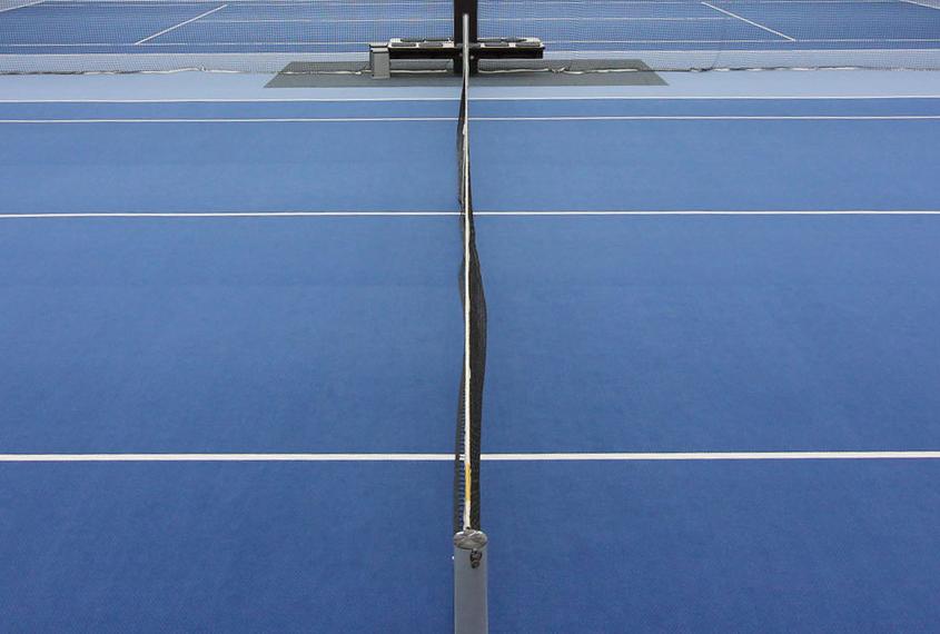 Tennis Neuer Hallenboden 2020