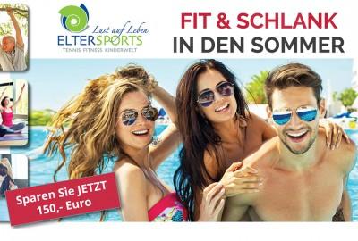 Fit und schlank in den Sommer - ElterSports Frühjahrsaktion 2018