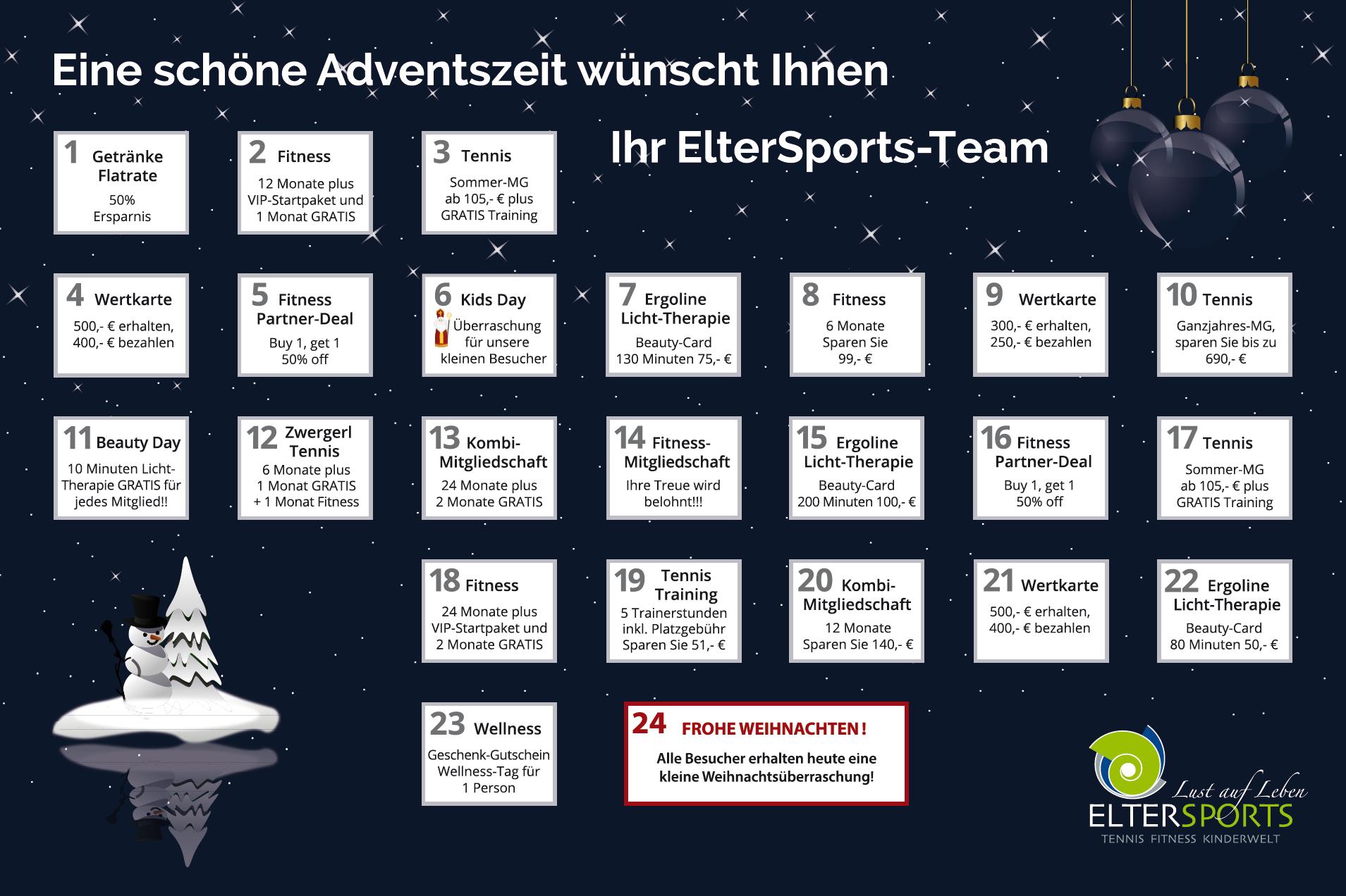 ElterSports-Adventskalender 2018