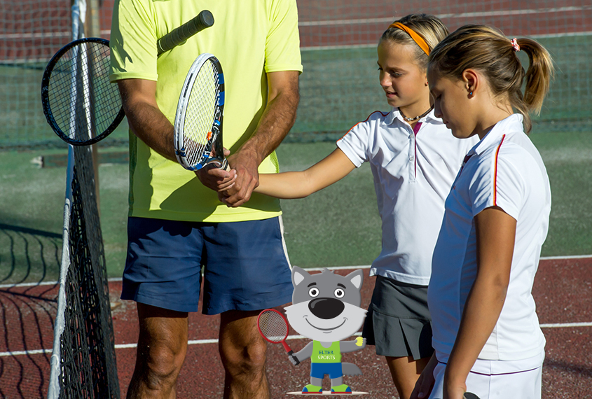 ElterSports Grünwald Tenniskurs Herbstferien