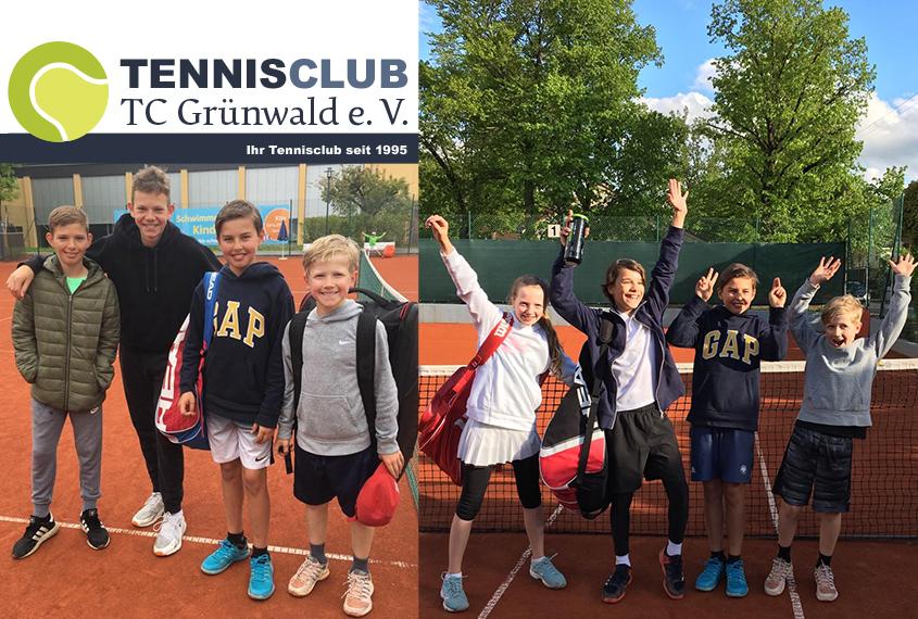 TC Grünwald Jugend Juni 2019