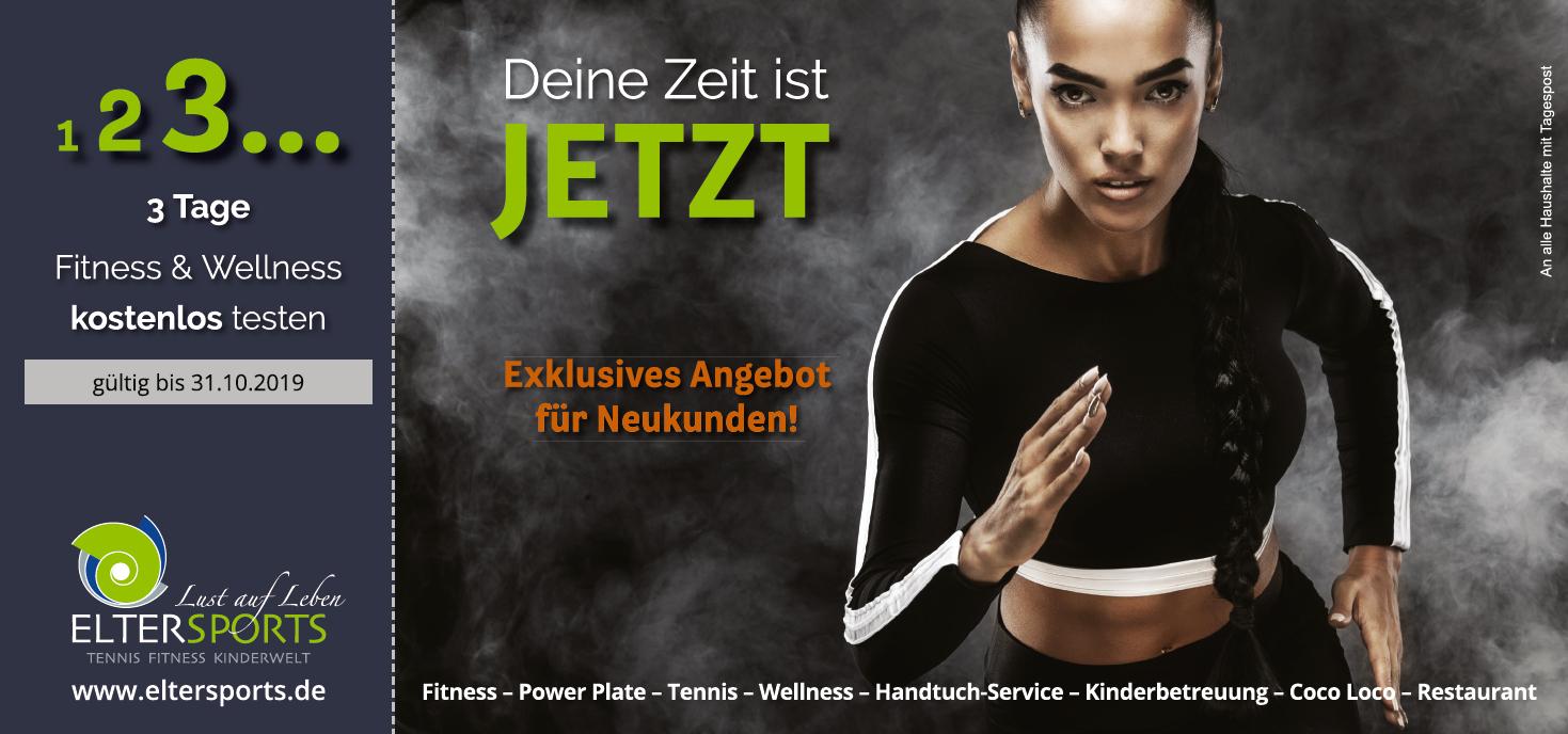 Fitness und Wellness kostenlos testen - Herbstaktion 2019