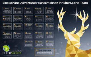Freude & Gesundheit schenken mit dem ElterSports Adventskalender 2019