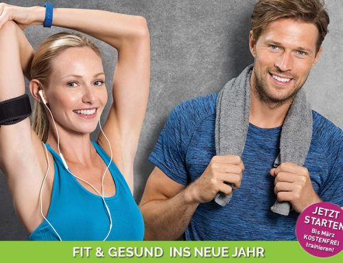 GESUND & FIT INS NEUE JAHR – Starten Sie JETZT Ihr Gesundheits-Training!