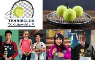 TC Grünwald Tennisjugend international erfolgreich Turniere