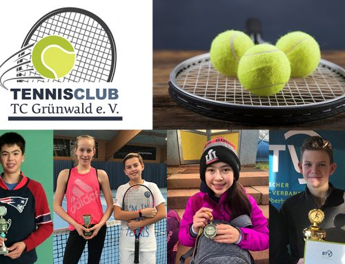 Grünwalds Tennistalente international erfolgreich
