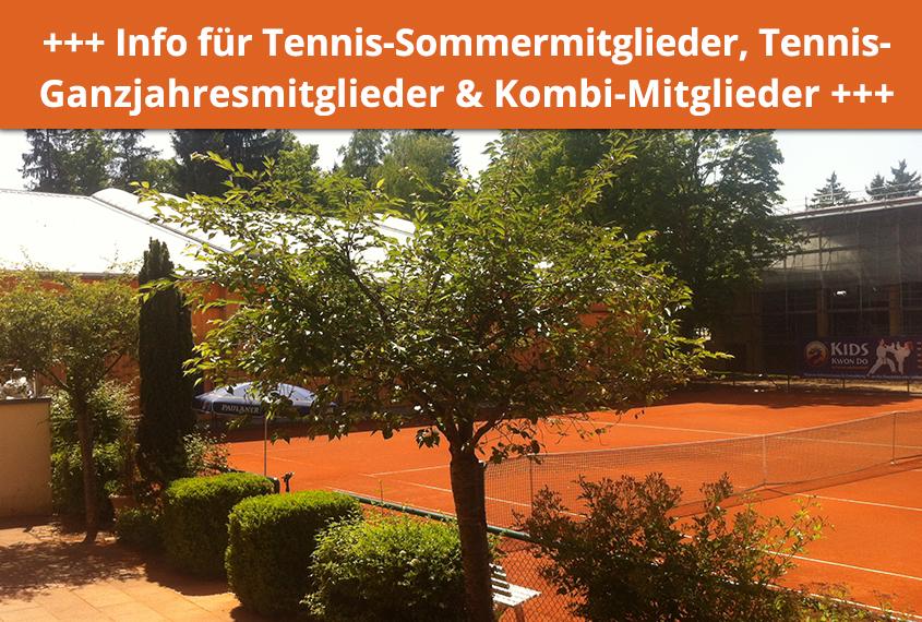 ElterSports Eröffnung Tennis Freiplätze 11. Mai