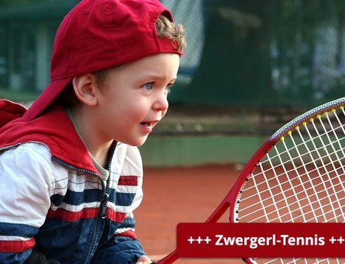 Gruppen-Einteilung Zwergerl-Tennis