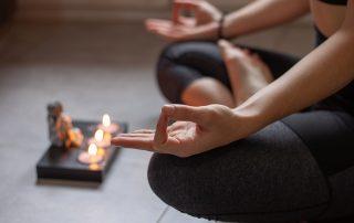 Yin Yoga Reihe Raum für Stille mit Christiane