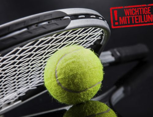 2. harter Lockdown – Informationen Tennis